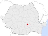 Amplasarea orasului Câmpina in cadrul Romaniei