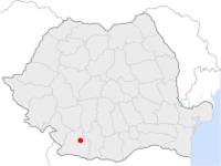 Amplasarea orasului Craiova in cadrul Romaniei