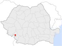 Amplasarea orasului Drobeta-Turnu Severin in cadrul Romaniei