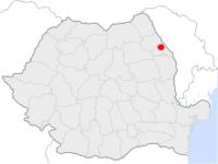 Amplasarea orasului Iași in cadrul Romaniei