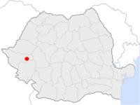 Amplasarea orasului Lugoj in cadrul Romaniei