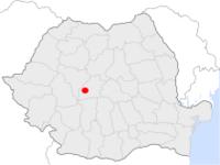 Amplasarea orasului Miercurea Sibiului in cadrul Romaniei