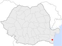 Amplasarea orasului Murfatlar in cadrul Romaniei