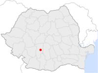 Amplasarea orasului Râmnicu Vâlcea in cadrul Romaniei