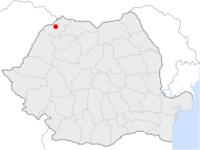 Amplasarea orasului Satu Mare in cadrul Romaniei