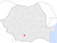 Amplasarea orasului Slatina in cadrul Romaniei