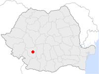 Amplasarea orasului Târgu Jiu in cadrul Romaniei