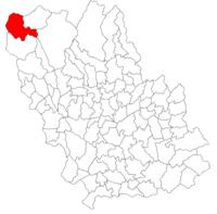 Pozitia orasului Bușteni in cadrul judetului Prahova