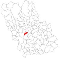 Pozitia orasului Plopeni in cadrul judetului Prahova