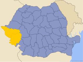 Harta regiunii Banat