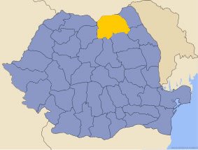 Harta regiunii Bucovina