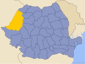 Harta regiunii Crișana