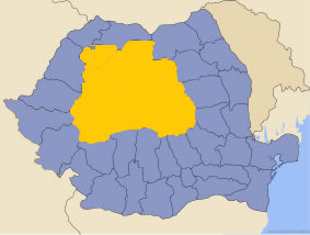 Harta regiunii Transilvania